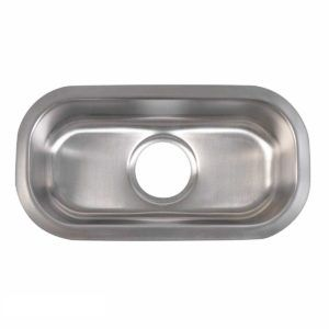 Stainless Steel Kitchen Sink 101 - Dimensions: L 12-1/2 in. x W 18 in. x D 7 in.