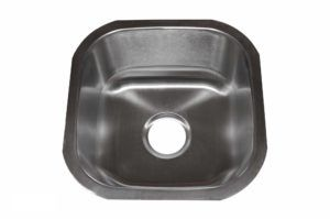 Stainless Steel Kitchen Sink 103 - Dimensions: L 16 in. x W 16 in. x D 8 in.