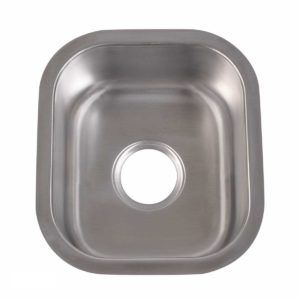 Stainless Steel Kitchen Sink 105 - Dimensions: L 15 in. x W 12-3/4 in. x D 7 in.