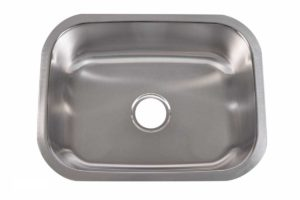 Stainless Steel Kitchen Sink 301 - Dimensions: L 23-1/4 in. x W 17-1/2 in. x D 9 in.