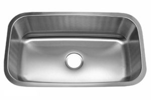 Stainless Steel Kitchen Sink 309 - Dimensions: L 31-1/2 in. x W 18-1/2 in. x D 9 in.