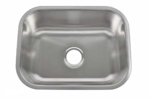 Stainless Steel Kitchen Sink 707 - Dimensions: L 23 in. x W 17-3/4 in. x D 9 in.