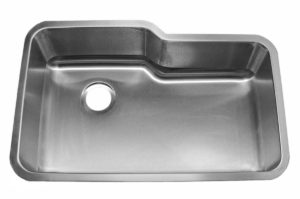 Stainless Steel Kitchen Sink 721 - Dimensions: L 32 in. x W 20-3/4 in. x D 10 in.