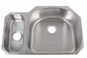 Stainless Steel Kitchen Sink 903 R - Right basin dimensions: L 31-3/4 in. x W 20-7/8 in. x D 5-1/2 / 9 in.