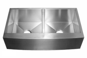 Stainless Steel Kitchen Sink EFD3620 - Dimensions: L 36 in. x W 20 in. x D 10 in.