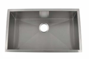 Stainless Steel Kitchen Sink HBS3018 - Dimensions: L 30 in. x W 18 in. x D 10 in.
