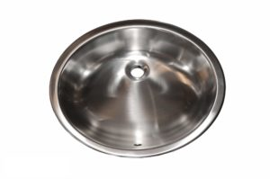 Stainless Steel Kitchen Sink OR1916 - Dimensions: W 19-1/8 in. x L 16-1/8 x D 7 in.