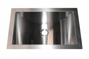 Stainless Steel Bar Sink HA114 - Dimensions: L 11 in. x W 14 in. x D 7 in.